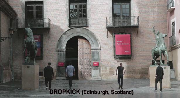Vídeo de Dropkick en el Museo Pablo Gargallo