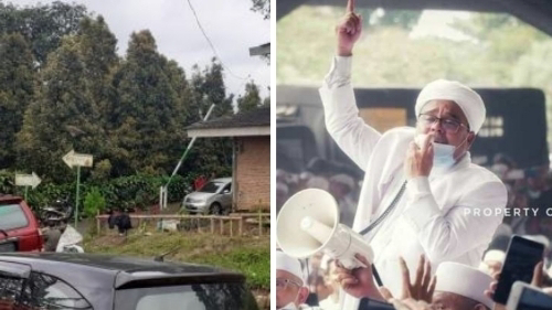 Rizieq Dilaporkan ke Polisi, Dituduh Gunakan Lahan PTPN VIII Tanpa Izin.