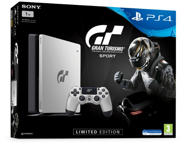 Newly Released Gran Turismo Sport Now Have Limited Edition PlayStation 4