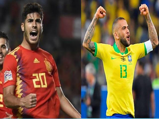 Jadwal Final Bola Putra Olimpiade Timnas Spanyol U-23 Vs Brasil U-23, Sabtu 7 Agustus 2021