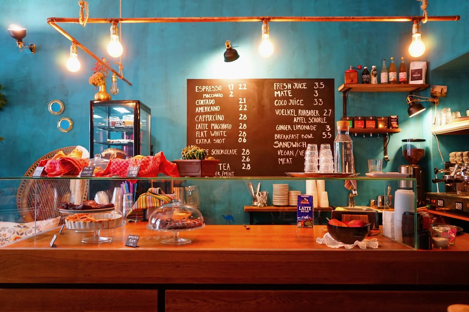 Le Chameau Bleu -  Comptoir Frida Cafe