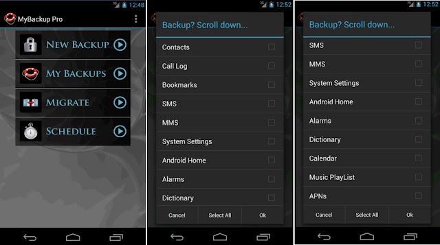 My Backup Pro v4.4.6 APK backup solution