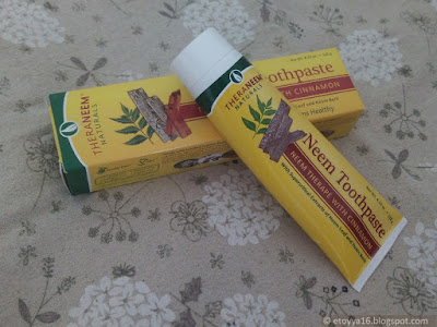 Зубная паста Organix South, TheraNeem Naturals, Neem Toothpaste, Neem Therape with Cinnamon