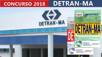 Concurso Detran-MA 2018