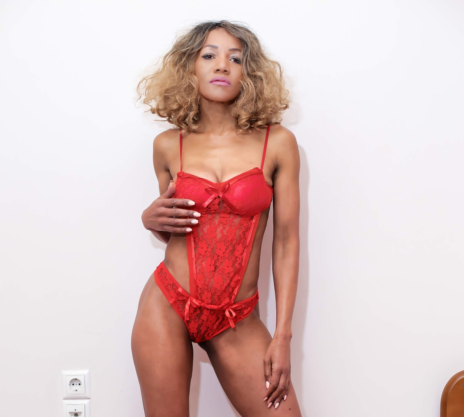 e86dcbc5d3e Watch this space because I ll be styling a lot more of their clothing in a  few weeks. Shop my RED LACE CUT-OUT TEDDY at Chicme today. Happy Shopping