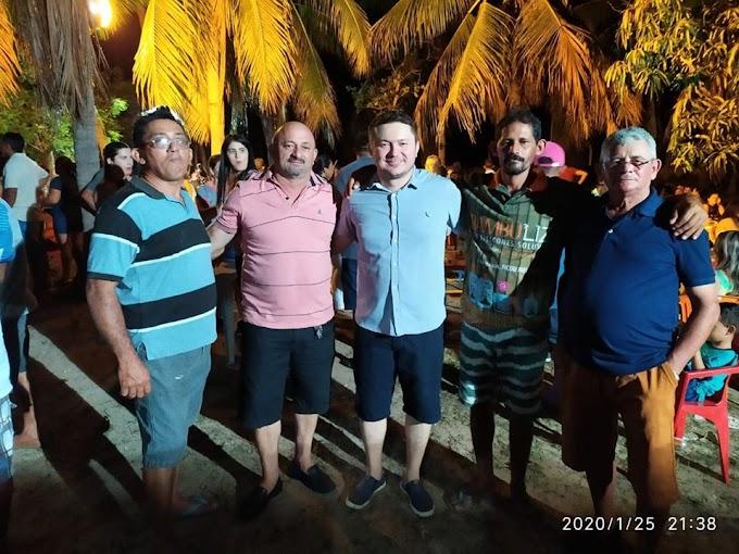 Grupo político promove encontro no distrito de Salão e divulga dois nomes como pré-candidatos a vereador.