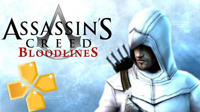 تحميل لعبة المغامرات أساسنز كريد بلودلاينز Assassin's Creed Bloodlines Psp لاجهزة الاندرويد