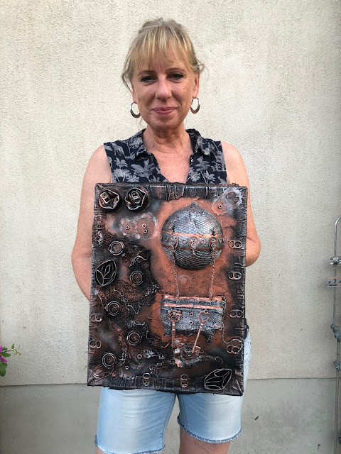 Steampunk Up-cycled Workshop with Stanislava Boudova (StanislavaArts.eu) - We are great!