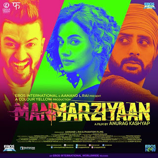 Manmarziyaan, Bollywood, Movie, Bollywood Movie 2018, Hindi Movie, Filem dan Drama Bulan Februari Hingga Mac 201, Cast, Pelakon Filem Manmarziyaan, Abhishek Bachchan, Taapsee Pannu, Vicky Kaushal, Abdul Quadir Amin, Ashnoor Kaur, Review By Miss Banu, Blog Miss Banu Story, Poster Filem Manmarziyaan, Ulasan, My Opinion,