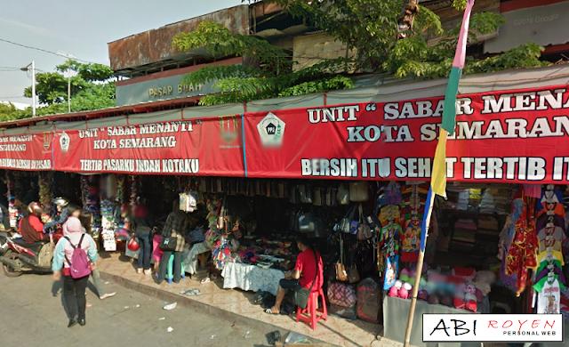 Destinasi Wisata Terbaik di Kota Semarang Pasar Johar Semarang