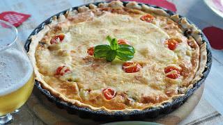 Cremini Mushroom Quiche recipe