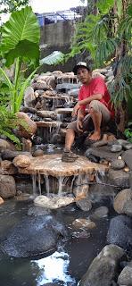 Pembuatan kolam alami