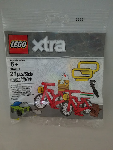 Polybag Lego Xtra 40313 New /& Sealed Bicycles Accessories