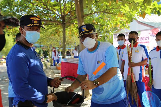 BP Batam bersama KSOP Batam Ikut Menghadiri Peringatan  Harhubnas Tahun 2021