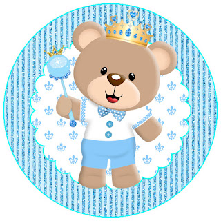 Prince Bear Free Printable Party Kit.