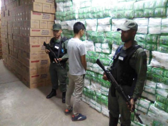 Sundee se robó más de 100.000 kilos de productos de higiene