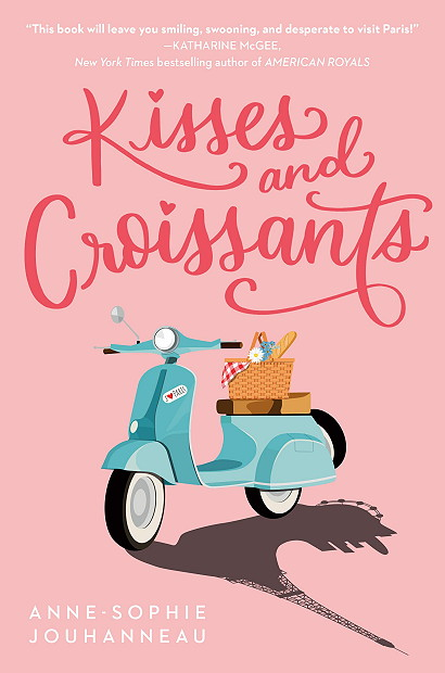 Kisses and Croissants Anne-Sophie Jouhanneau young adult books contemporary blog tour giveaway
