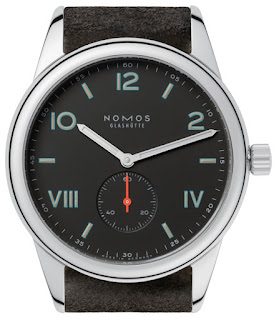 Montre Nomos Club 38 Campus Nacht