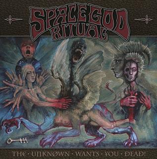 """Το album των Space God Ritual """"The Unknown Wants You Dead!"""""""