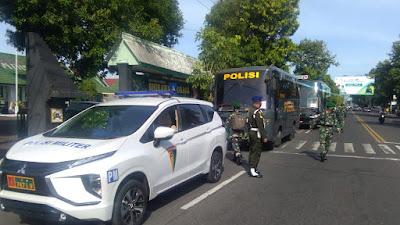 Kodim 0823 Situbondo Kerahkan 206 Personil Ke Kodim 0825 Banyuwangi, Kunjungan Presiden RI