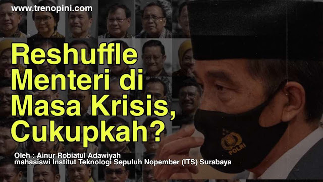 """Sense of Crisis"", itulah ketiadaan yang dimiliki oleh para menteri menurut Presiden Jokowi pada rapat terbatas di sidang kabinet paripurna di Istana Negara, Jakarta, 18 Juni lalu. Tidak adanya perasaan yang satu, mengakibatkan minimnya kerja para menteri dalam menangani krisis bahkan di era pandemi."