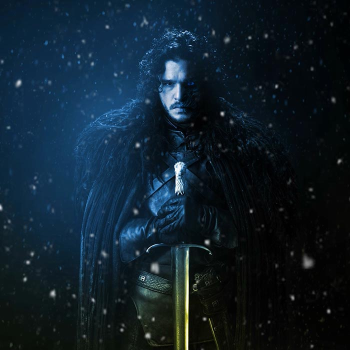 Jon Snow Animated Game Of Thrones Wallpaper Engine