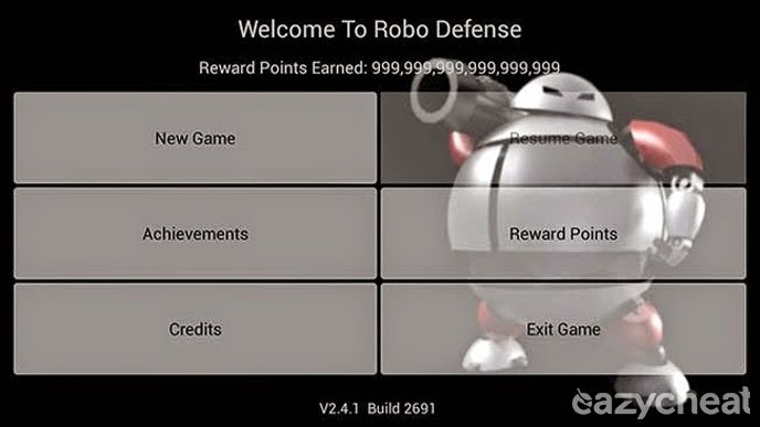 Robo Defense Full Cheats