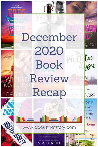 December 2020 Book Review Recap | About That Story