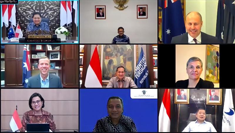 Indonesia-Australia Perkuat Kerjasama Bidang Ekonomi, Perdagangan dan Investasi