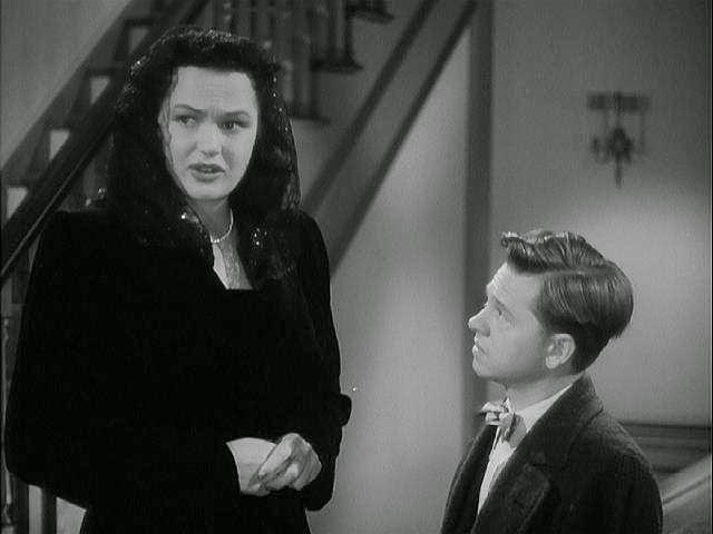 Image result for dorothy ford and mickey rooney in andy hardy film
