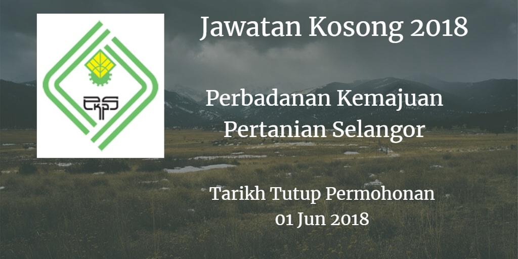 Jawatan Kosong PKPS 01 Jun 2018
