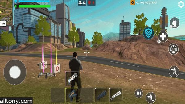 تنزيل لعبة Cyber Fire: Free Battle Royale للأندرويد APK  رابط مباشر