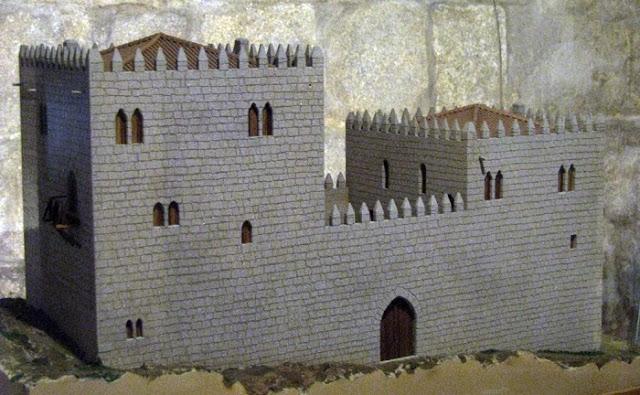 Maquete edifício medieval