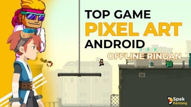 7 Game Pixel Art Offline Ringan Terbaik di Android 2020