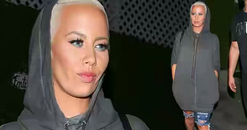 "'I won't do it again. Maybe if it's two guys but not with another girl"" Amber Rose Share her Experience from her First Three Some"