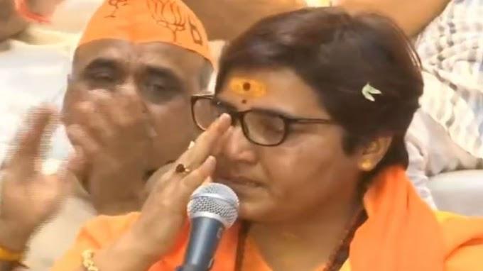 Sadhvi Pragya alleges police torture, Breaks Down While Narrating Her Ordeal In Custody