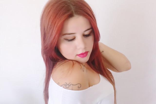 Widi care, Phany Pinheiro, Ruiva, Tonalizante para cabelo ruivo, creme widi care, tonalizante widi care, red flowers widi care, cabelo vermelho e hidratado, tinta para cabelo vermelho, red, hair , blog de cabelo, cabelos lindos, como pintar o cabelo em casa, dicas para pintar o cabelo, qual tonalizante eu usar para cabelos vermelhos,