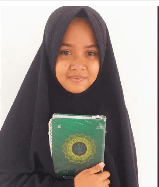 Neisya Shabina, Anak Tukang Bangunan di Aceh Hafal Alquran 30 Juz dalam Waktu 7 Bulan