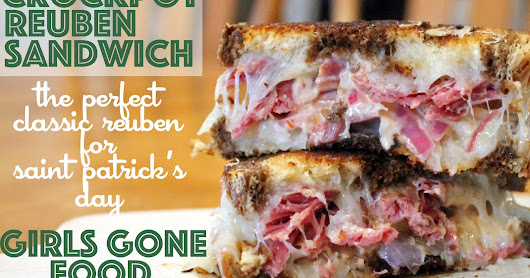 Classic Reuben Sandwich with Slow Cooker Corned Beef