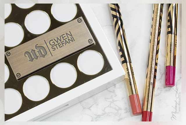 urban decay x gwen stefani blush palette review swatches