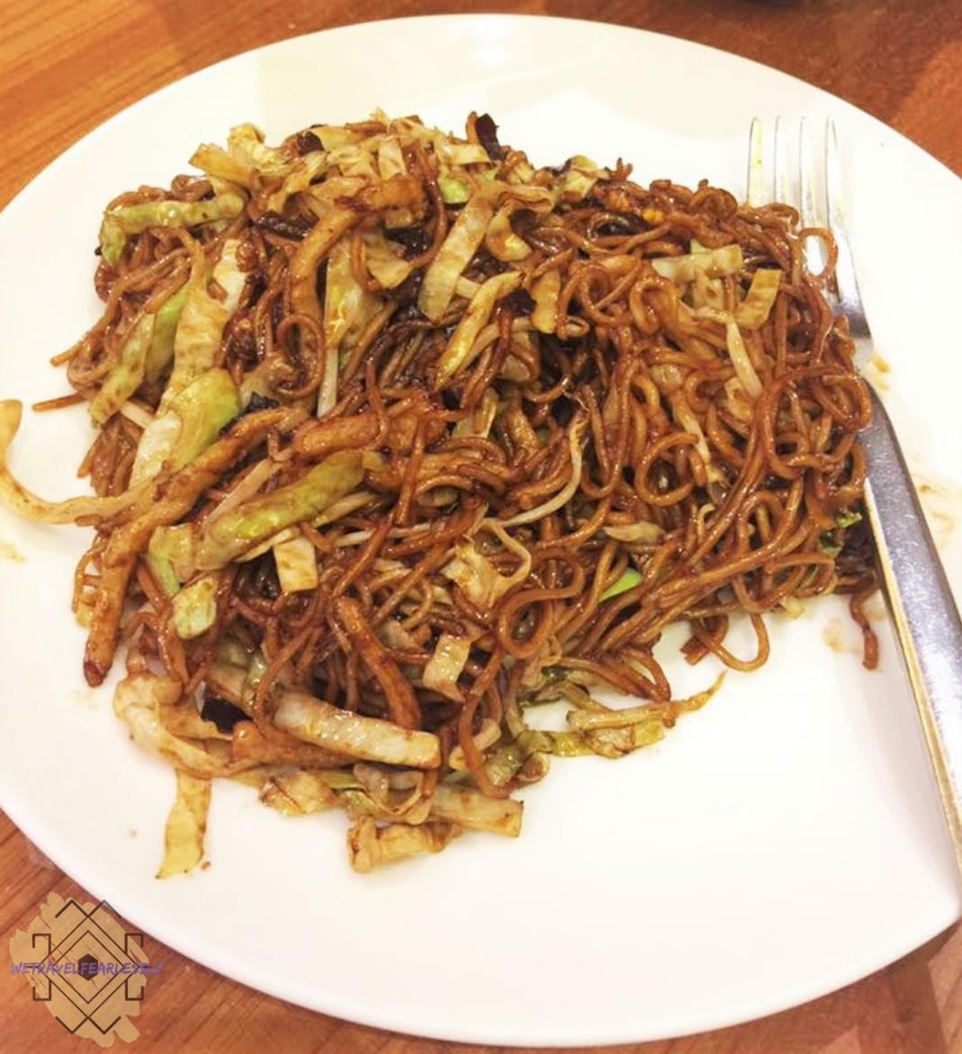 Stir-fried La Mian with Shredded Pork and Black Fungus (PHP238) in Paradise Dynasty in S Maison, Pasay City - WTF Review