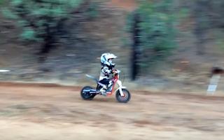 Πιτσιρίκια ταλέντα στο motocross - ΒΙΝΤΕΟ