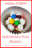 Edible Sedimentary Rocks