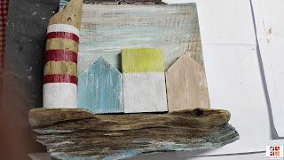 madera de playa