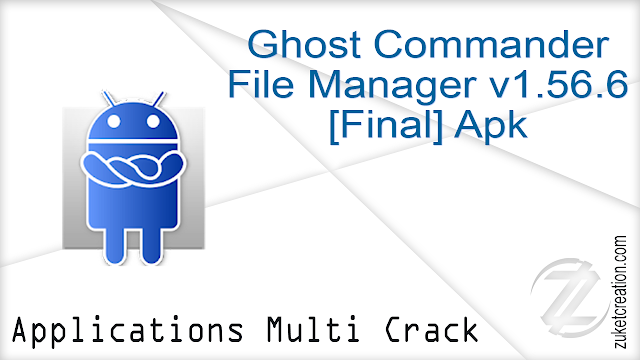 Ghost Commander File Manager v1.56.6 [Final] Apk