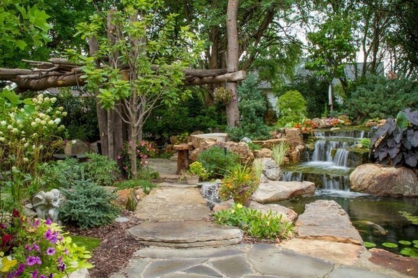 Garden Paths A Creative Decoration
