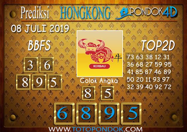 Prediksi Togel HONGKONG PONDOK4D 08 JULI 2019