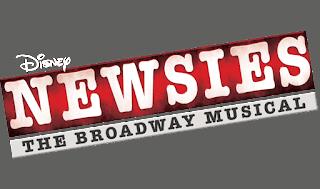 Disney Newsies The Broadway Musical Disney Plus Logo