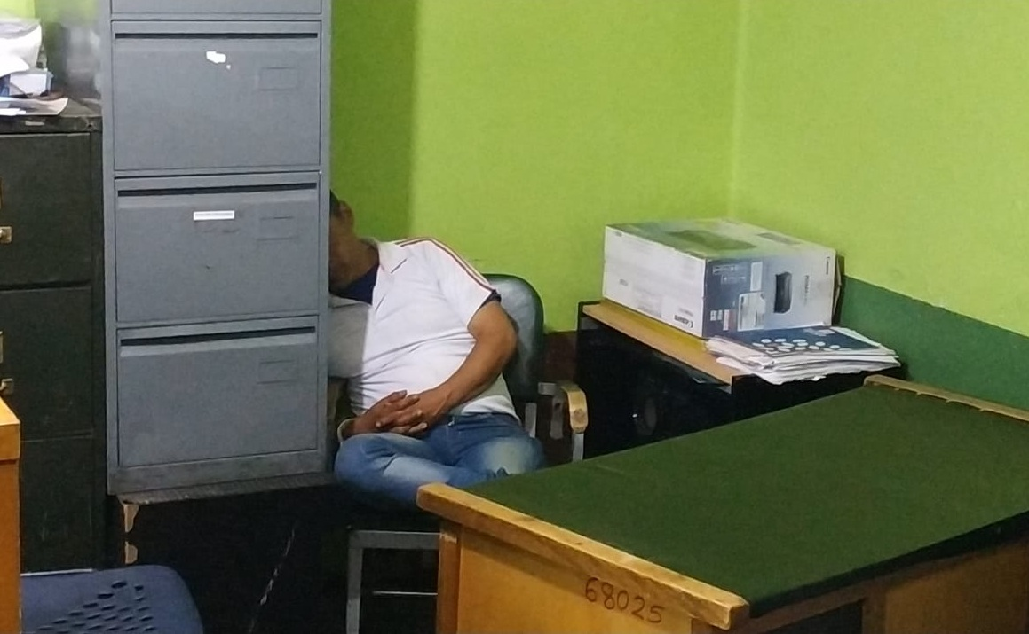 Se investigan los antecedentes del súbdito colombiano que llegó a La Paz hace dos semanas / ÁNGEL SALAZAR
