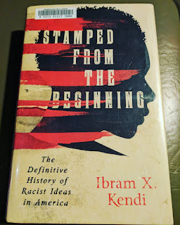 Book cover for Ibram X Kendi - Stamped from the Beginning